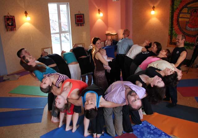 Мастер-класс Светланы Лобановой по парной йоге