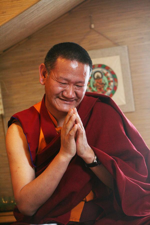 Амчи Тензин Биста, личный врач короля Мустанга, Непал